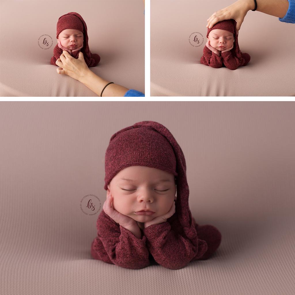 Seguridad del bebé en las sesiones newborn
